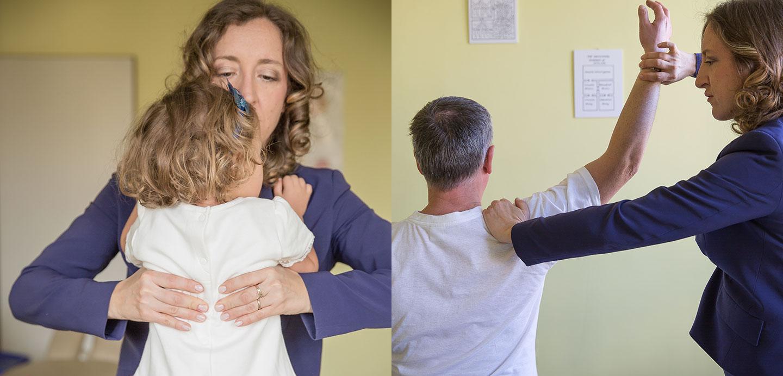 Consuelo Podio chiropratica per bambini e adulti